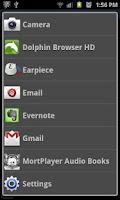 Screenshot of FastLaunch