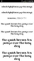 Screenshot of Fonts for FlipFont #15