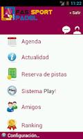 Screenshot of Fas Sport Padel