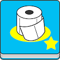 toilettes journal icon