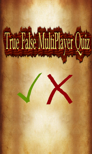 True False MultiPlayer Quiz