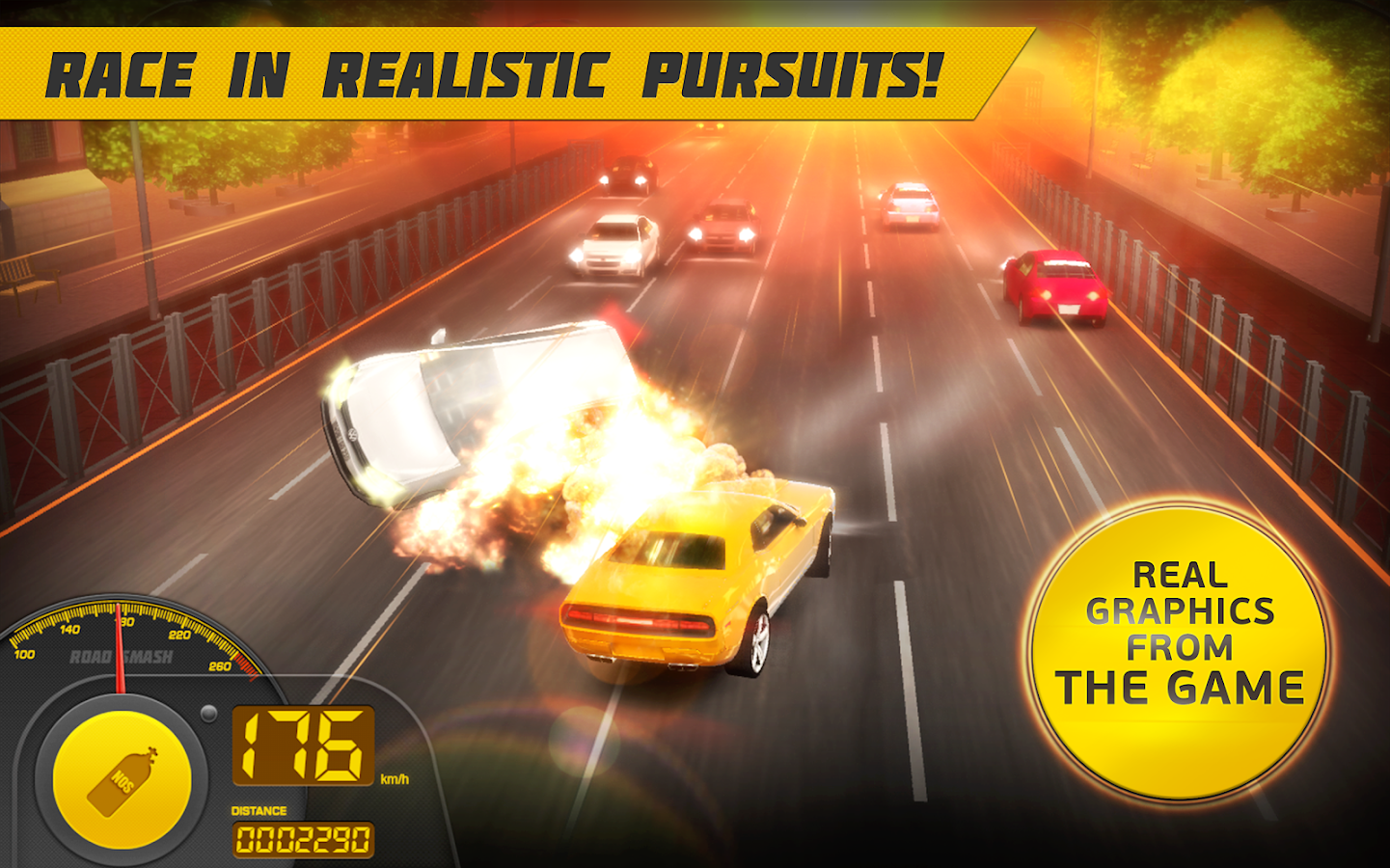 Road Smash 2: Hot Pursuit- screenshot