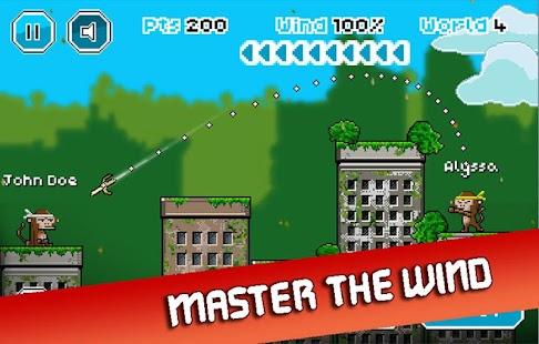 City Monkey: Pixel Artillery Screenshot 7