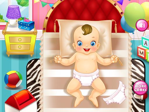 嬰兒護理的遊戲