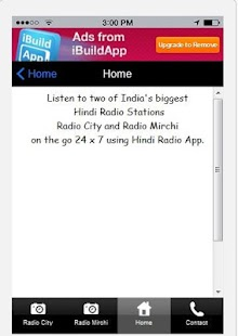 91.1 and 98.3 FM Hindi Radio - screenshot thumbnail