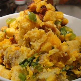 Sweet Potato Sausage Stuffing