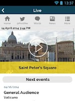 Screenshot of The Pope App - Pope Francis