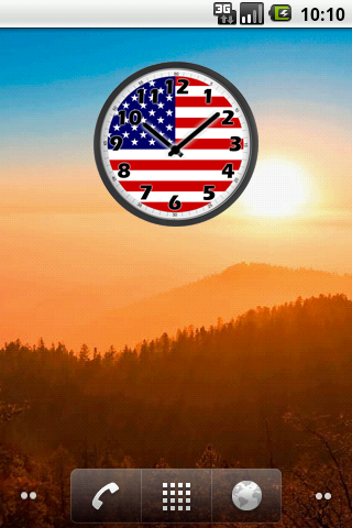 USA Clock- screenshot
