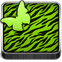 THEME - Green Zebra Butterfly icon