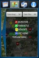 Screenshot of SADETEK  Araç Takip Mobil App