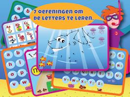 Screenshot of Juf Jannie-Letters leren lezen
