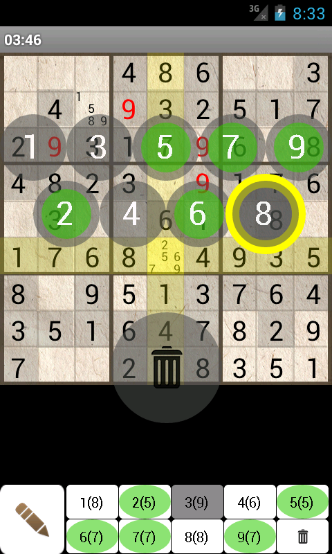 Sudoku lite- screenshot