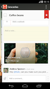 Wunderlist: To-Do List & Tasks - screenshot thumbnail