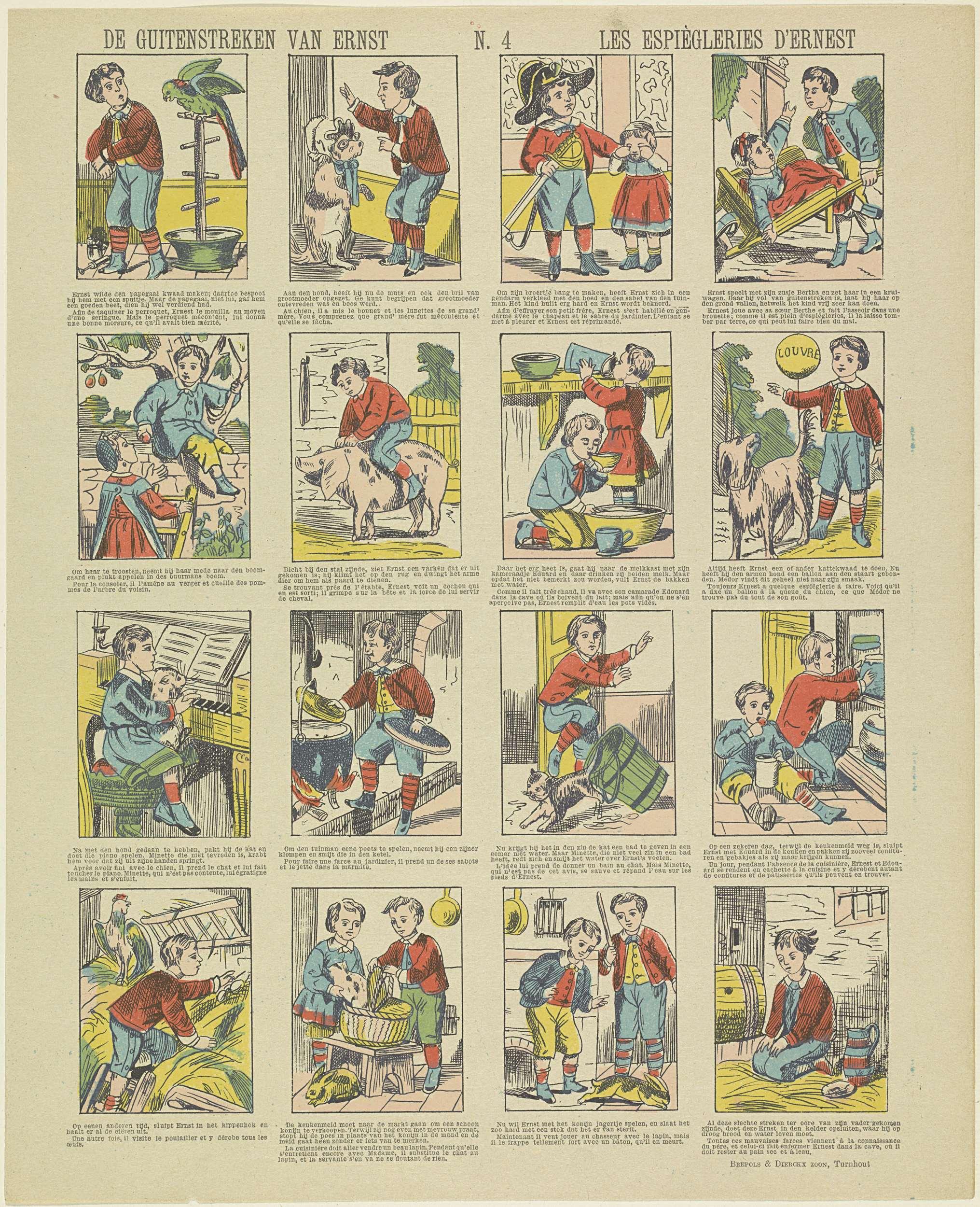 16ab4ed58f80a7 De guitenstreken van Ernest   Le espiègleries d Ernest