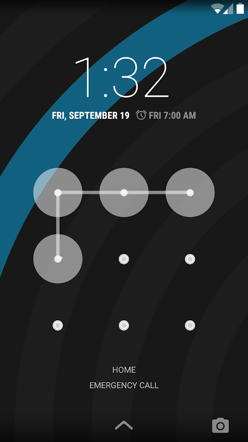 Sky Blue - PA/CM11 Theme - screenshot