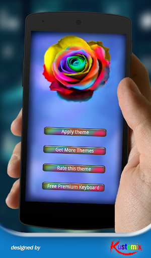 Colored Roses Keyboard