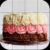 Tile Puzzle - Cakes