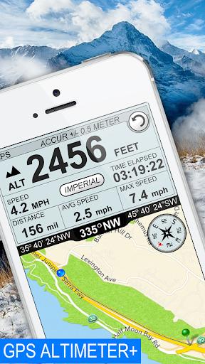 GPS Altimeter Speedometer +