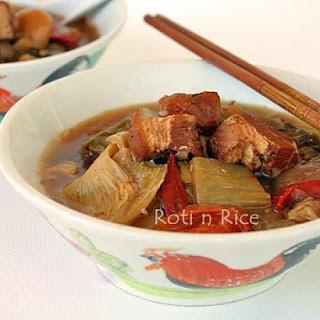 Chop Suey Soup (Chai Boey).