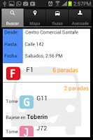 Screenshot of Mi TransMi  y SITP Bogota