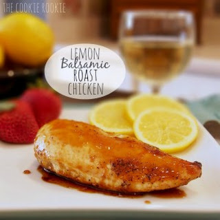 Lemon Balsamic Roast Chicken