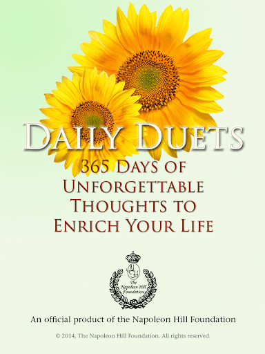 Daily Duets by Napoleon Hill