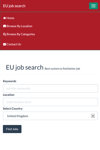 EU Jobs - screenshot