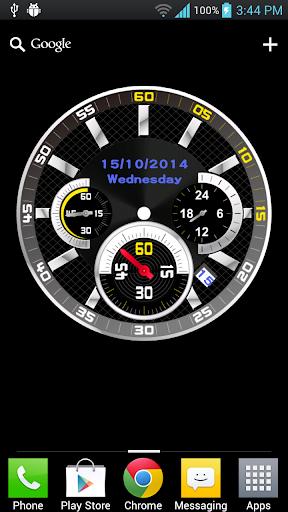 iClock 模拟时钟动态壁纸