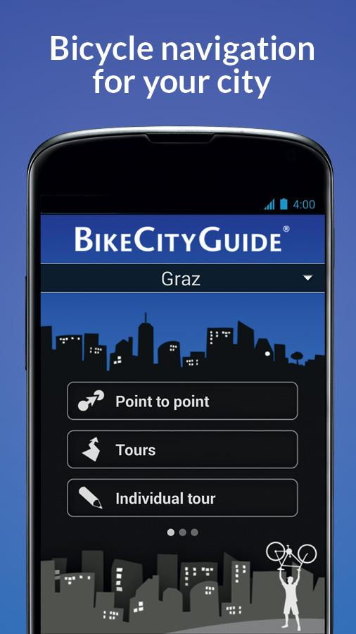 BikeCityGuide - screenshot