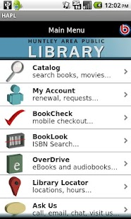 Huntley Area Public Library - screenshot thumbnail
