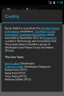 Bantu Babel- screenshot thumbnail