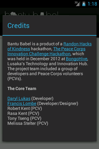 Bantu Babel- screenshot