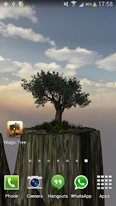 Magic Tree Live Wallpaper screenshot 8