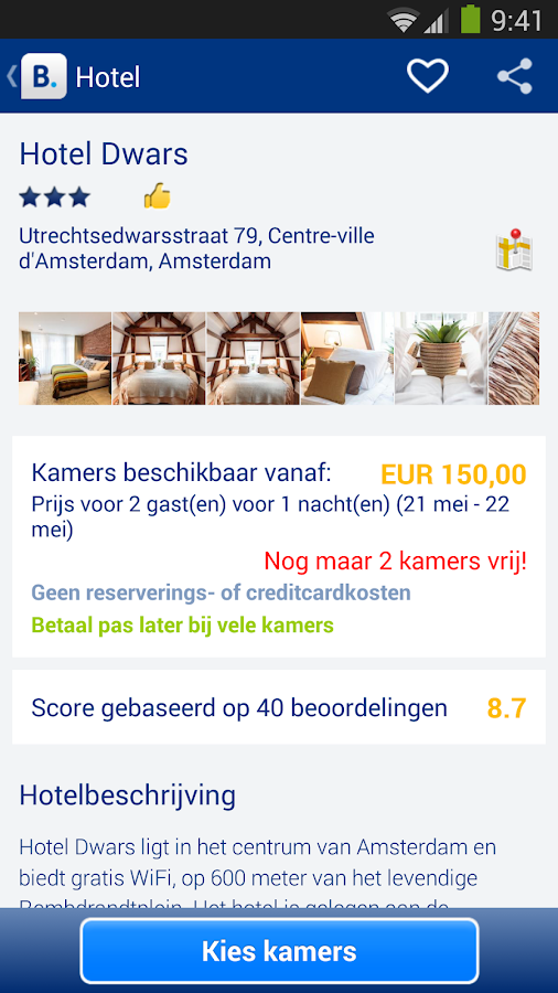 Booking.com - 430.000+ hotels - screenshot