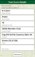 Screenshot of My CDGA