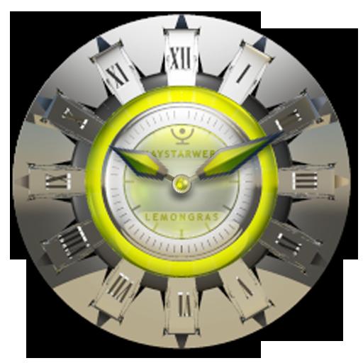 Clock Widget Lemongras