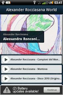 Alexander Rocciasana World - náhled