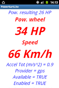 POWER KART LITE Meter - screenshot thumbnail