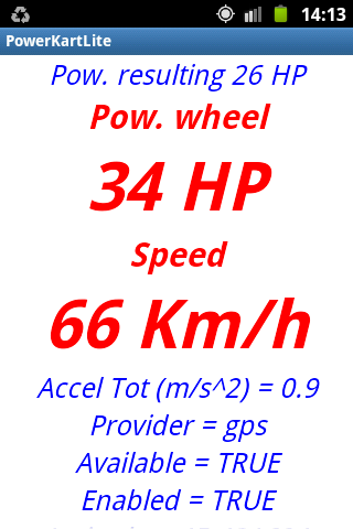 POWER KART LITE Meter- screenshot