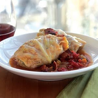 Pork-Stuffed Cabbage Rolls.