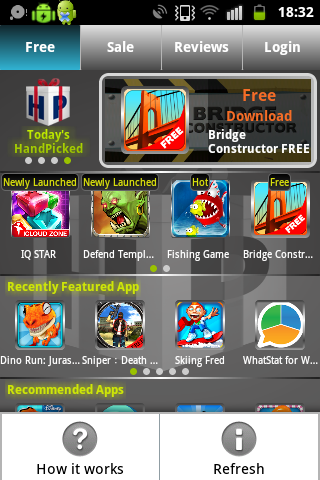 Handpicked Free Apps- screenshot