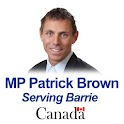 MP Patrick Brown logo