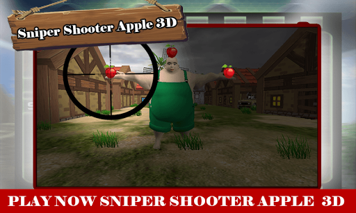 Sniper Shooter Apples 3D