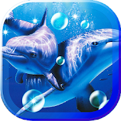Dolphin Sea HQ live wallpaper