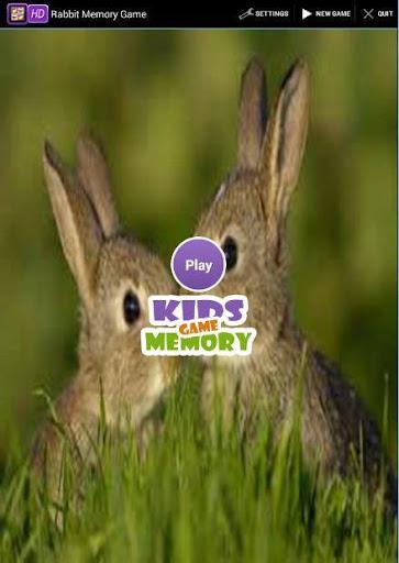 Rabbit Memory Game