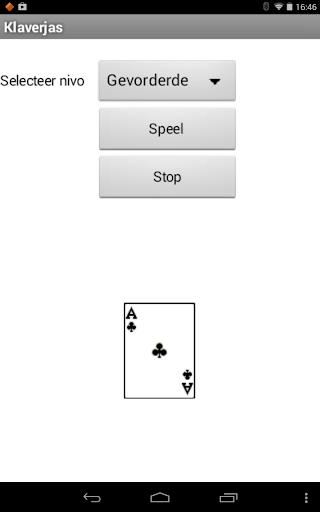 Klaverjas tegen de app