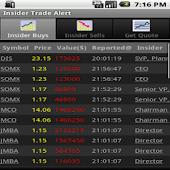 Insider Stock Trading Alert