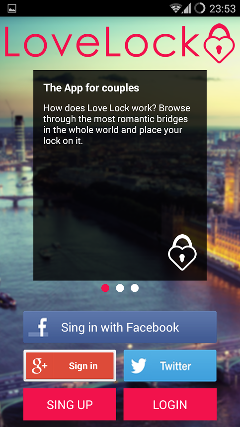 Love Lock - App for Lovers- screenshot
