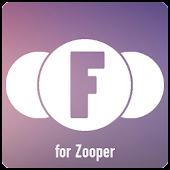 Flirkle - Flat Zooper Widget