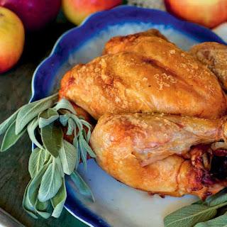 Cider-Brined Slow-Roasted Chicken